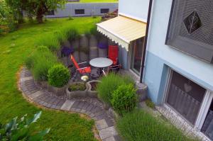 Terrasse | Ferienwohnung Ambiente am Europa-Park Rust