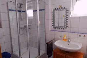 Badezimmer | Ferienwohnung Ambiente am Europa-Park Rust