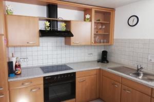 Küche | Ferienwohnung Ambiente am Europa-Park Rust