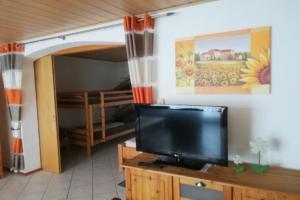 TV im Wohnbereich | Ferienwohnung Ambiente am Europa-Park Rust